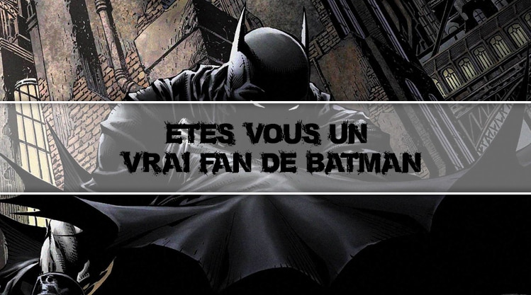 Etes-vous un vrai fan de Batman ?