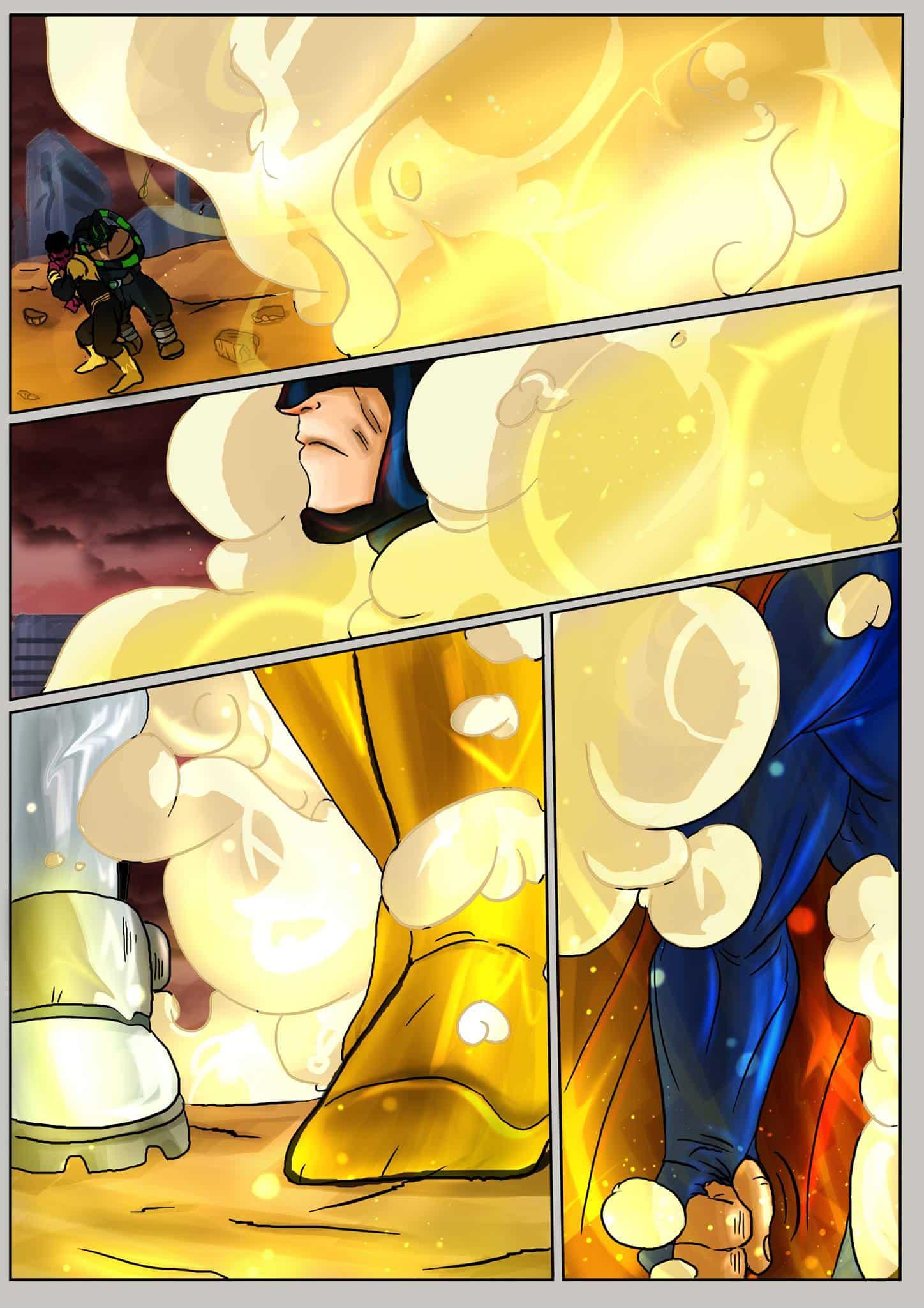 Justice league goku - 13