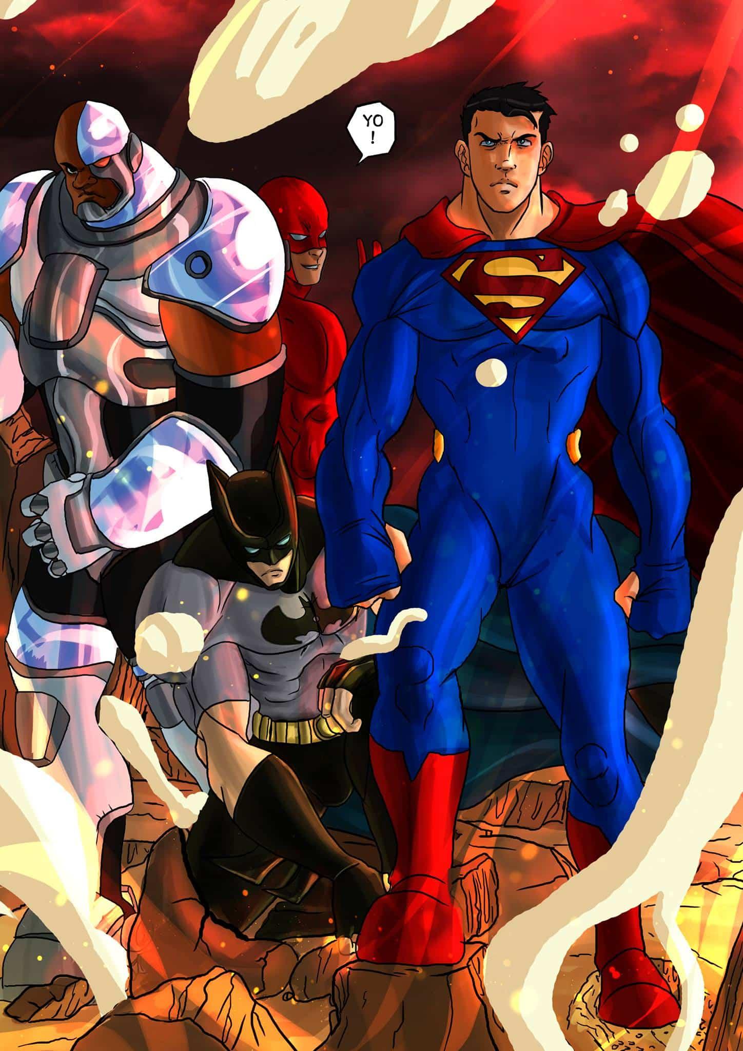 Justice league goku - 14
