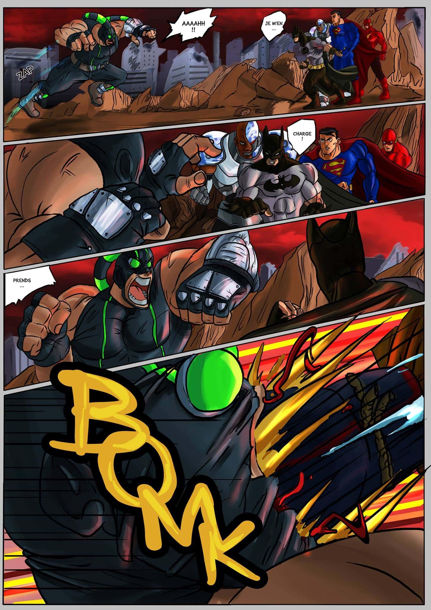 Justice league goku - 17