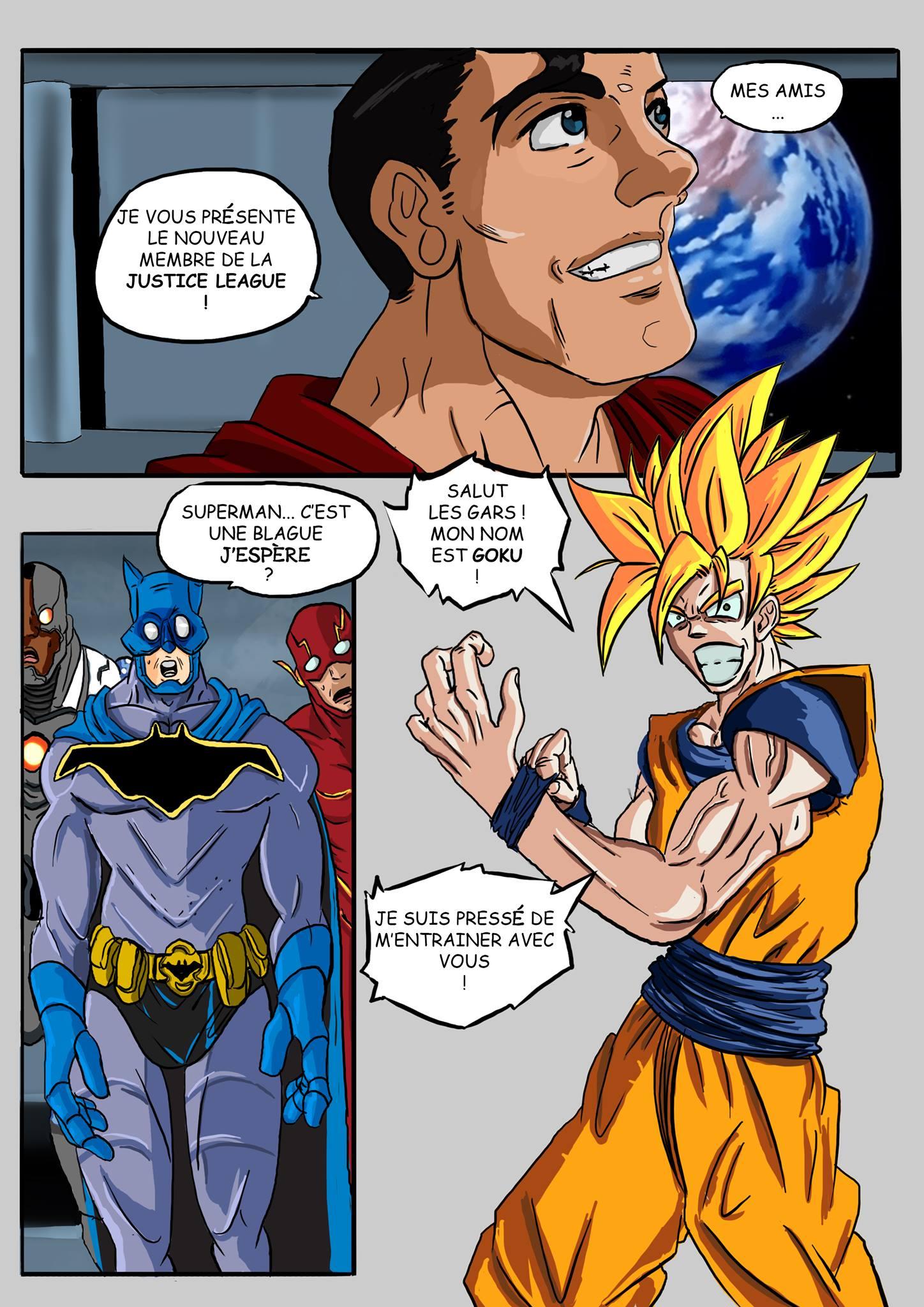 Justice league goku - 2