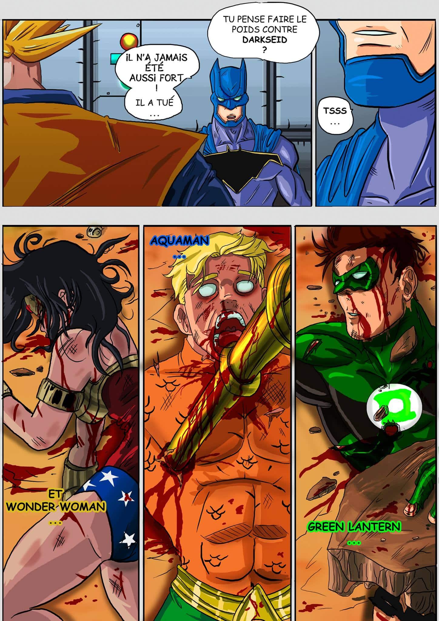 Justice league goku - 4