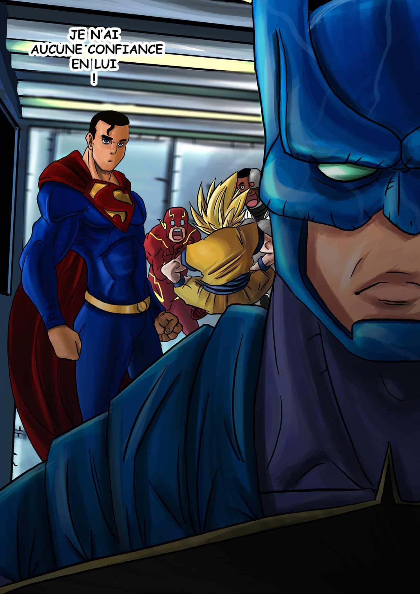 Justice league goku - 8