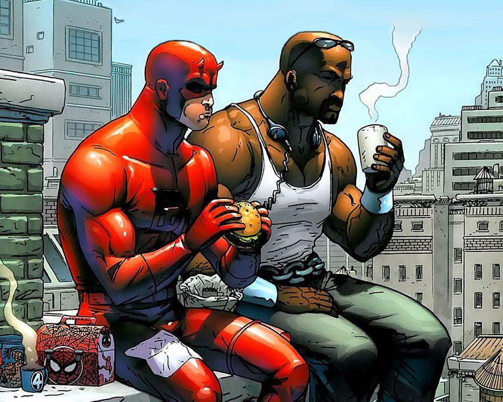 Teaser defenders - luke cage and Daredevil