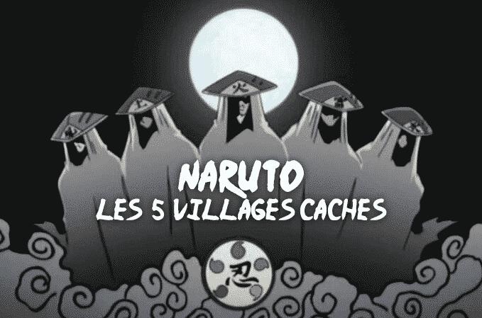 Naruto – Les villages cachés