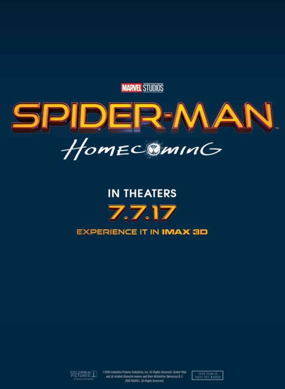 affiche SpiderManHomecoming