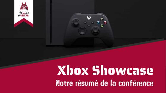 Xbox Showcase : notre résumé